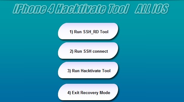 iPhone Hacktivate Tool