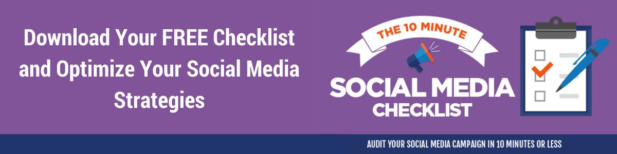 Download your free social media checklist
