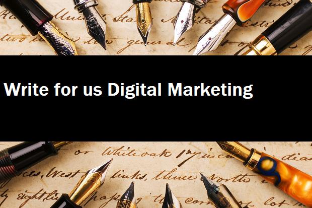 write for digital marketing
