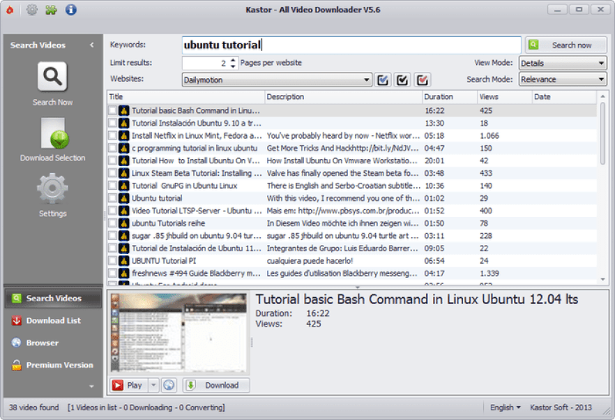 all video downloader youtube