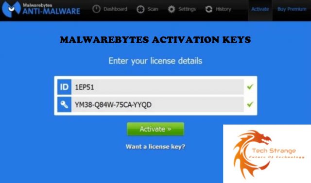 MALWAREBYTE ACTIVATION KEYS