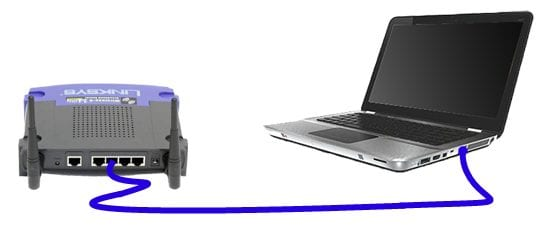 ethernet to laptop