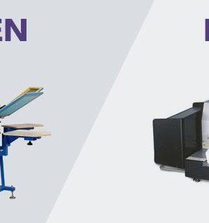 Screenprinting vs. Digital Printing