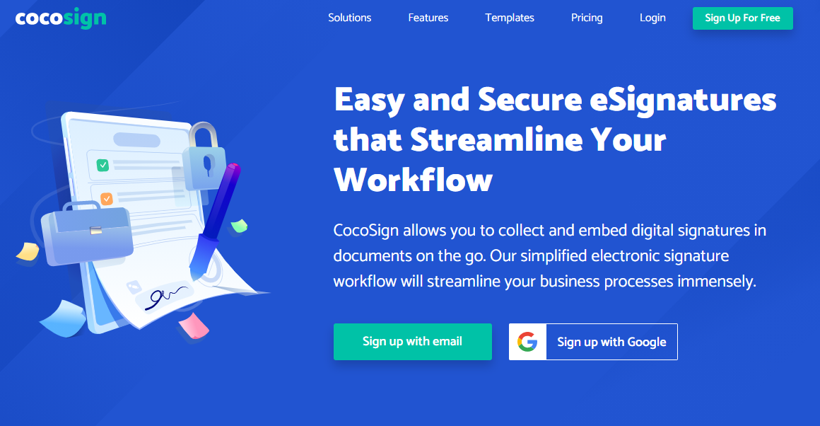 CocoSign: The Best E-Sign Solution