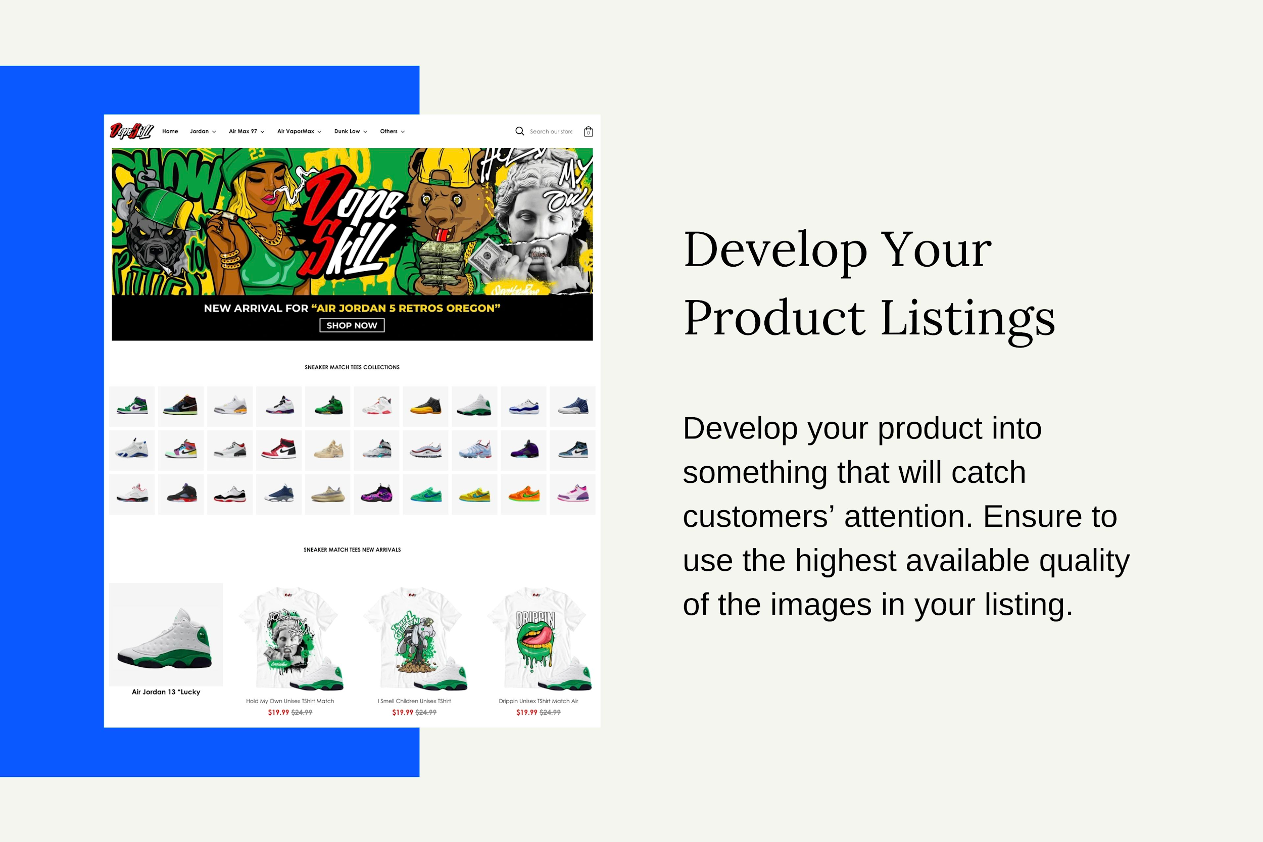 Develop Your Product Listings