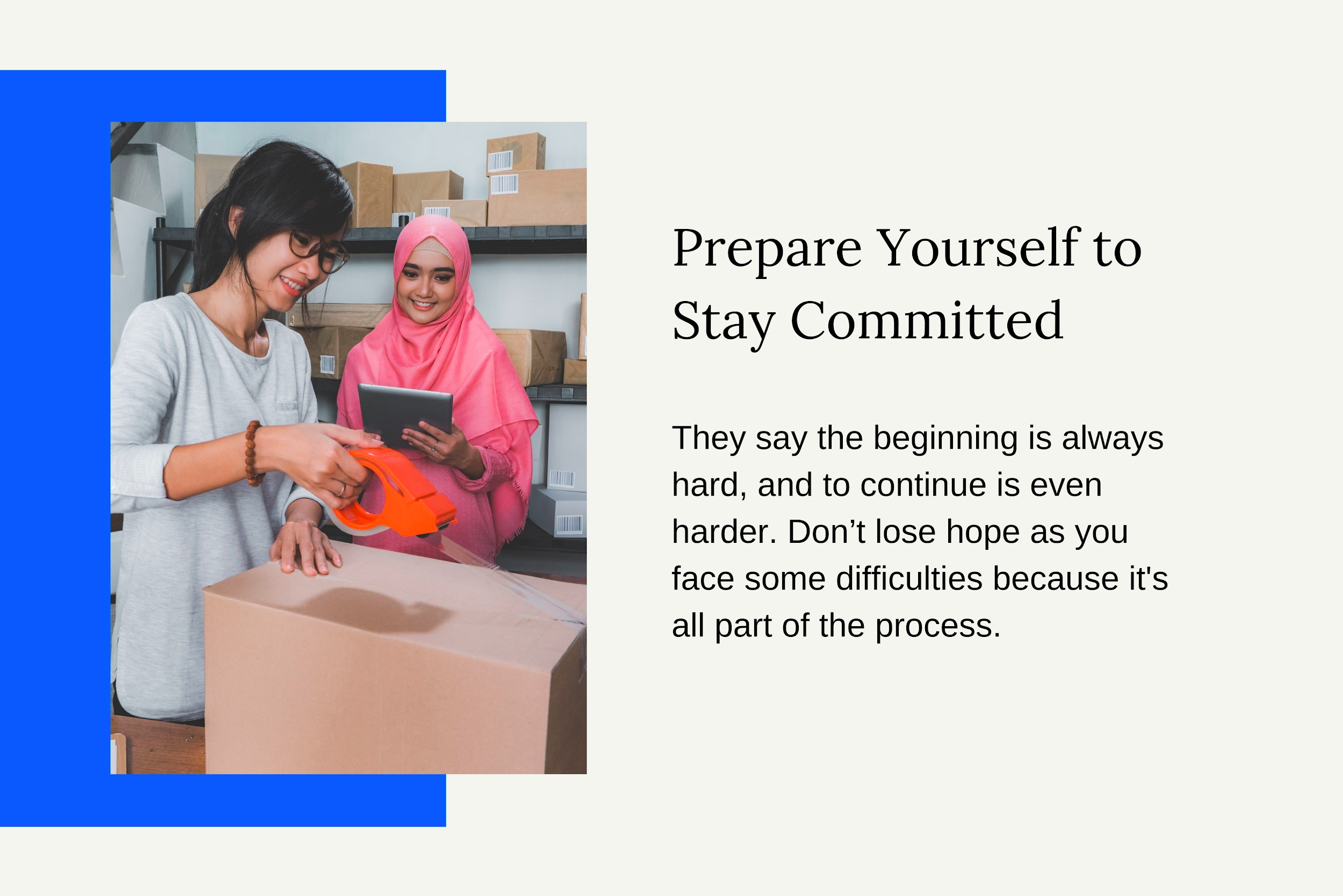 Prepare Yourself to Stay Committed