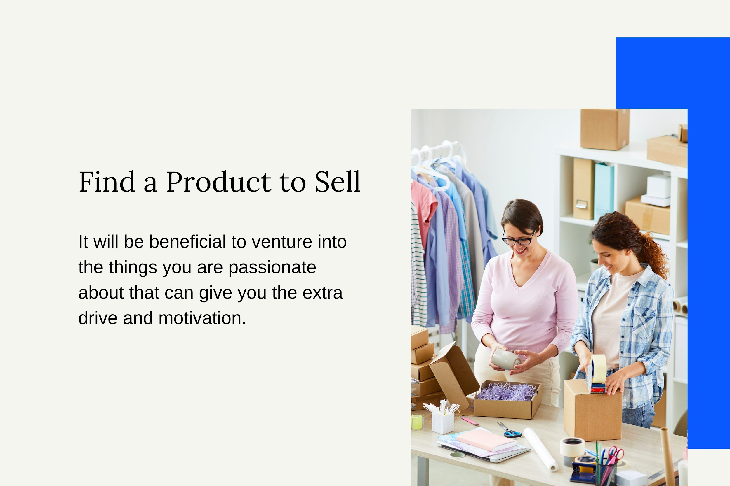 Find a Product to Sell