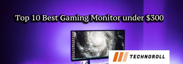 Top 10 Best Gaming Monitor under $300 in
