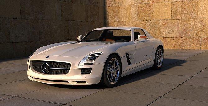 Car, Vehicle, Wheels, Mercedes, Auto