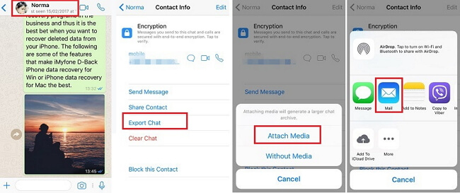 email-chat-one