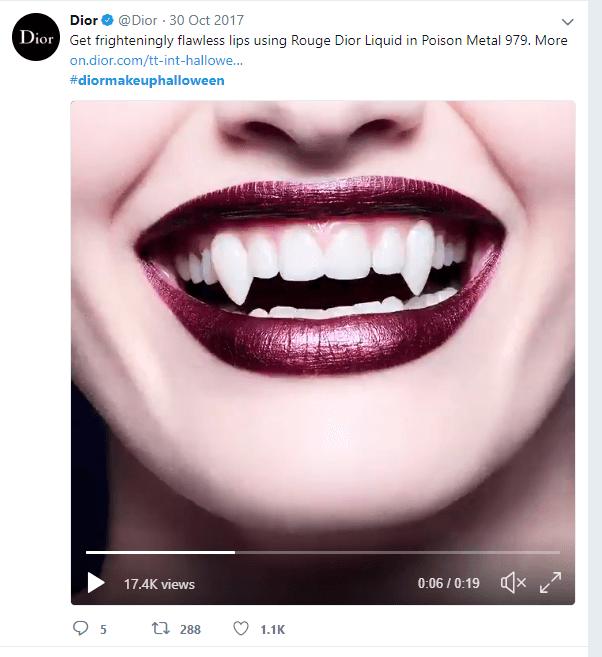 Dior Halloween Campaign
