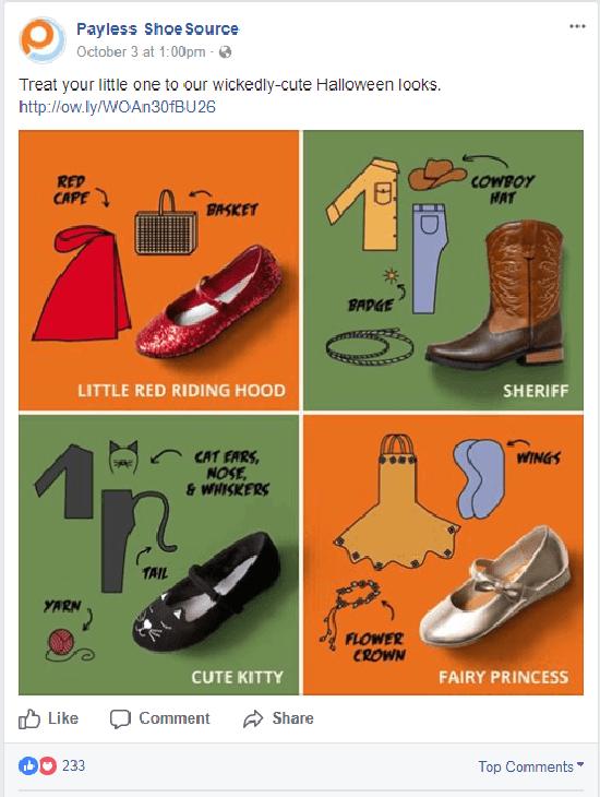Halloween Marketing Facebook Ads